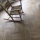 Firkantmønster gulv stavgulv